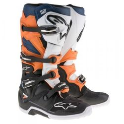 ALPINESTARS(MX) buty TECH7 czarny/pomarańczowy