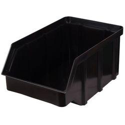 Plastikowy pojemnik warsztatowy - wym. 441 x 290 x 213 - kolor czarny