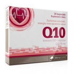 Minerały OLIMP KOENZYM Q 10 Z LECYT. KAPS. 0,03 G 30 KAPS. Najlepszy produkt Najlepszy produkt tylko u nas!