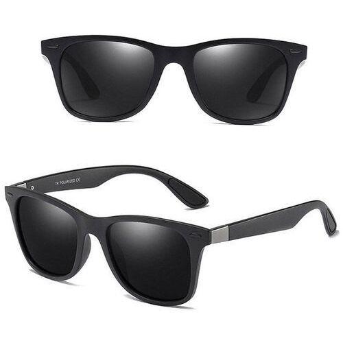 Okulary przeciwsłoneczne, Okulary polaryzacyjne męskie przeciwsłoneczne mat