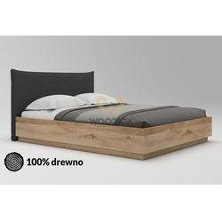 Łóżko dębowe Morus 02 podnoszone 180x200