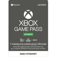 Klucze i karty przedpłacone, Subskrypcja Xbox Game Pass Ultimate (1 m-ce)