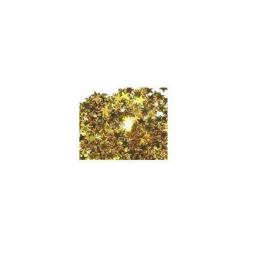 Pozostałe wyposażenie domu, Konfetti złote gwiazdki - 30 g