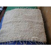Chodniki, Chodnik bawełniany (wycieraczka) ręcznie tkany ecru 65x50 cm