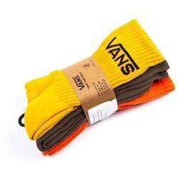 skarpetki VANS - Classic Crew (6.5-9, 3Pk) Mineral Yellow Assorted (O9P) rozmiar: OS