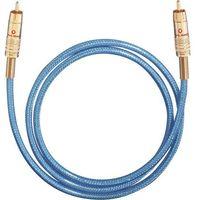 Kable audio, Kabel cyfrowy RCA, Oehlbach NF113, wtyk RCA / wtyk RCA, 75 Ohm, niebieski, 5 m