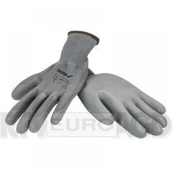 Rękawice robocze DEDRA BH1009R09 Szary (rozmiar L)