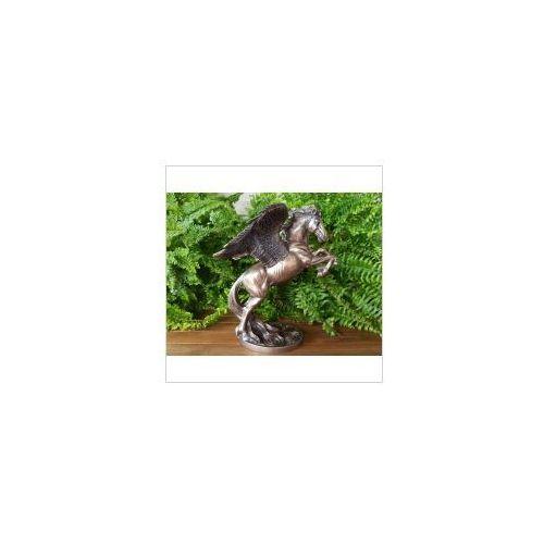 Rzeźby i figurki, PRZEPIĘKNY KOŃ - PEGAZ VERONESE (WU73987A4)