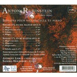 A. Rubinstein - Sonates Pour Violoncello