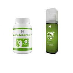 Zestaw na Wydłużenie Stosunku Orgasm Control 60tab + Żel 100ml | 100% DYSKRECJI | BEZPIECZNE ZAKUPY RABAT -15%