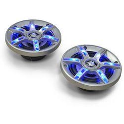 Auna CS-LED4 10cm głośniki samochodowe efekt świetlny 2x250W max.