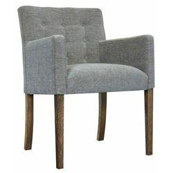 Fotel tapicerowany Nora z guzikami