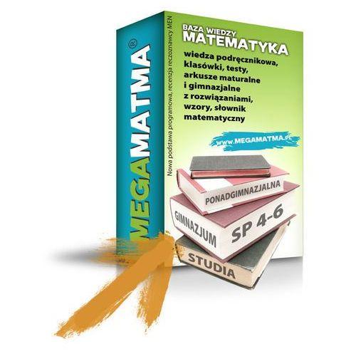 Programy edukacyjne, 2-letnia licencja do zasobów MegaMatma.pl