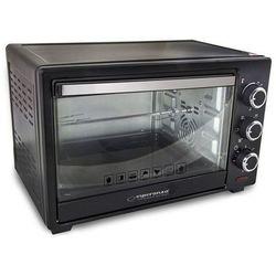 Mini piekarnik z konwekcją i rożnem elektryczny Esperanza NAPOLI EKO006 1600W kolor czarny