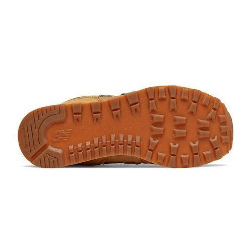Damskie obuwie sportowe, BUTY SPORTOWE GC574PBR BRĄZOWE