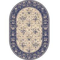 Dywany, Dywan Agnella Isfahan Olandia Ciemny Niebieski (owal) 160x240