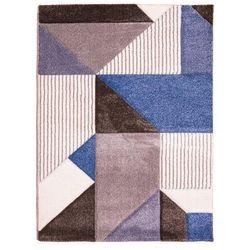 Dywan VEGAS brązowo-niebieski 160 x 220 cm 2020-02-12T00:00/2020-03-02T23:59