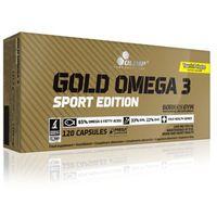 Witaminy i minerały, Gold Omega 3 sport edit 120 kapsułek