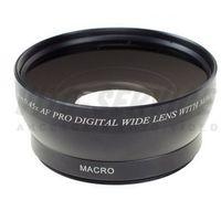 Konwertery fotograficzne, Konwerter szerokokątny 0,45x 46mm + macro