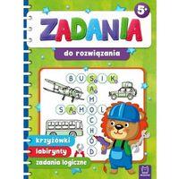 Książki dla dzieci, Zadania do rozwiązania. krzyżówki, labirynty, zadania logiczne (opr. miękka)