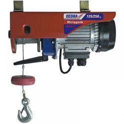 Wciągarka elektryczna DEDRA DED7911 550 Watt + DARMOWY TRANSPORT! promocja (--38%)