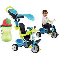 Smoby Rowerek trójkołowy Baby Driver Confort niebieski 741200 + bidon gratis