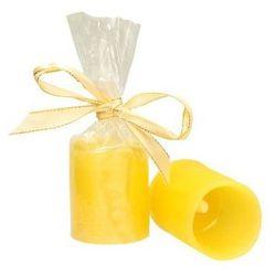 Dekoria Świeca woskowa LED żółta wys. 6,5cm -50%, 6,5 cm