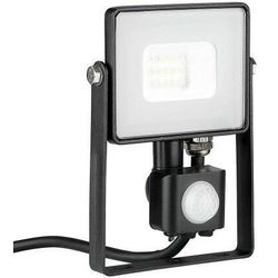 V-tac Naświetlacz LED VT-10-S 10W SMD PIR czujnik SAMSUNG CHIP