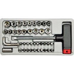 Wkrętak typu t z wymienymi grotami i nasadkami kpl.41szt. Vorel 65150 - ZYSKAJ RABAT 30 ZŁ