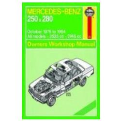 Mercedes-Benz 250 & 280 123 Series Petrol Owner's
