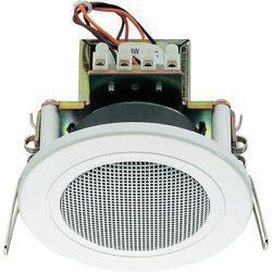 Głośnik sufitowy PA do zabudowy Monacor EDL-82/WS, 94 dB, 200 - 20 000 Hz, 100 V, Kolor: biały, 1 szt.