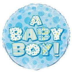 Balon foliowy na Baby Shower - 47 cm