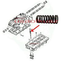 Pozostały układ silnika, Sprężyna zaworowa Jeep Liberty Cherokee 2,5 CRD 2,8CRD -2007