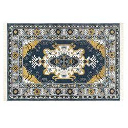 Chodnik orientalny z frędzlami LAHORE – 80 × 200 cm – wielokolorowy