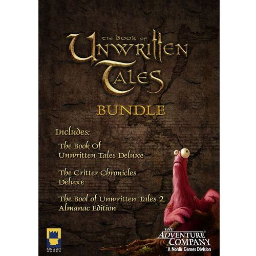 Gry na PC, The Book of Unwritten Tales Collection, ESD (801995) Darmowy odbiór w 21 miastach! Raty od 6,85 zł
