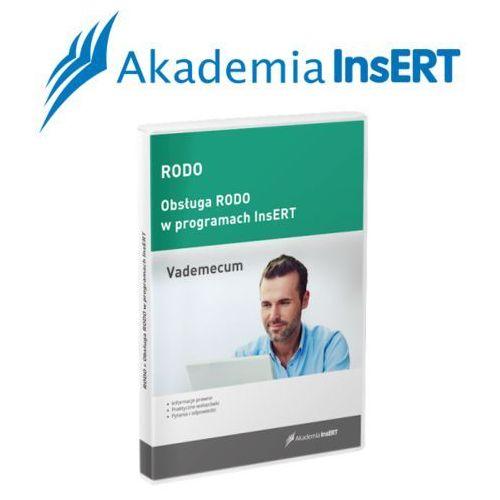 Programy kadrowe i finansowe, Akademia InsERT: RODO - vademecum oraz obsługa w programach InsERT