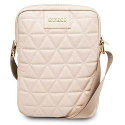 "Guess Torba 10"" różowa / pink Quilted Tablet Bag"