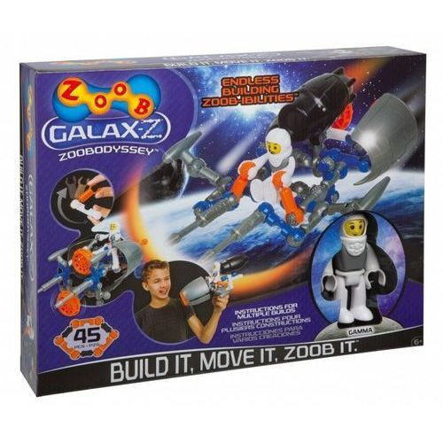 Klocki dla dzieci, Zoob Z-Galax. Zoobodyssey 45 el.