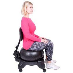 Krzesło z piłką rehabilitacyjne inSPORTline G-Chair z oparciem