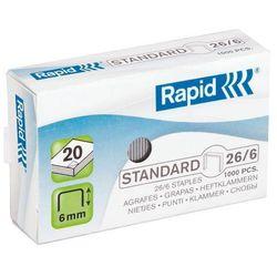 Zszywki Rapid Standard 26/6 1M - 24861300