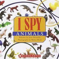 Książki dla dzieci, I spy little animals (opr. twarda)