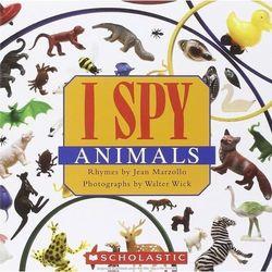 I spy little animals (opr. twarda)