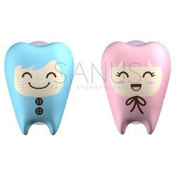 Flipper - Uchwyt na przyssawki na szczoteczkę do zębów, PINK_BLUE, hit!