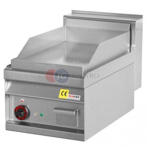 Grille gastronomiczne, Płyta grillowa elektryczna pojedyncza ryflowana Red Fox linia 700 FTR - 4 ET