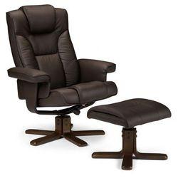 Fotel wypoczynkowy z podnóżkiem Bornes