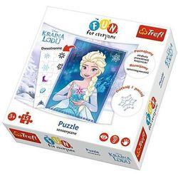 Frozen Kraina Lodu Fun For Everyone TREFL puzzle 15 el.