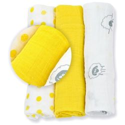 Lulujo Mini Pieluszki Sunshine Yellow