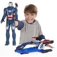 Figurki i postacie, Figurka HASBRO Avengers Tytan 30 cm z pojazdem B0431 WB4 + DARMOWY TRANSPORT!