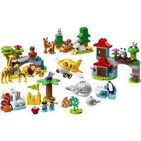 Klocki dla dzieci, Lego DUPLO World animals 10907
