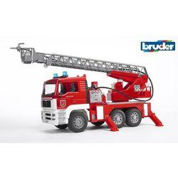 BRUDER Wóz strażacki z dźwiękowym modułem 02771 - BEZPŁATNY ODBIÓR: WROCŁAW!